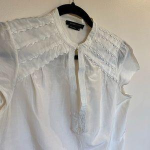 BCBG White short sleeve top
